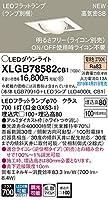 パナソニック(Panasonic) 天井埋込型 LED(電球色) ユニバーサルダウンライト 浅型8H・高気密SB形・拡散タイプ(マイルド配光) 調光タイプ(ライコン別売) 埋込穴□100 XLGB78582CB1