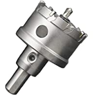 ShopXJ 超硬 ステンレス ホールソー 穴あけ 電動ドリル ホルソー ホールカッター (14mm)