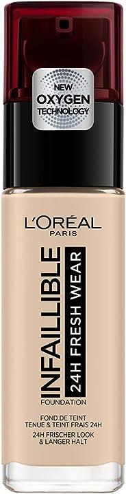 L'Oréal Paris Infallible 24hr Liquid Foundation 20 Ivory