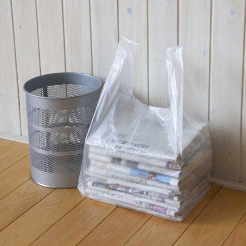 結んで運べる 新聞・雑誌整理袋 100枚組(50枚パック×2セット)