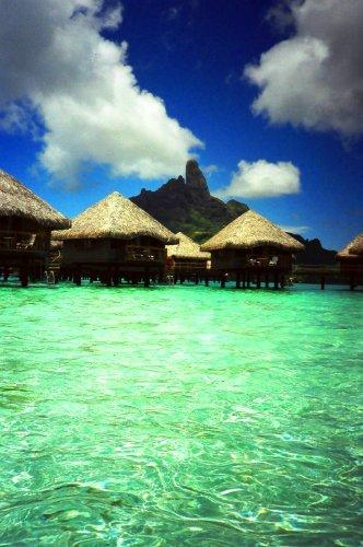 世界の美しいビーチ(タヒチ、イタリア、ギリシャ、フランス、タイ等)