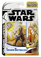Star Wars The Animated Series ANAKIN SKYWALKER Action Figure Clone Wars 2nd Version w/ vest