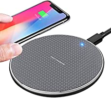 TIANYI Wireless charger,10W phone Wireless Charging Pad 2020 Upgraded version ,Compatible with iphone 11/11 Pro/11 Pro...