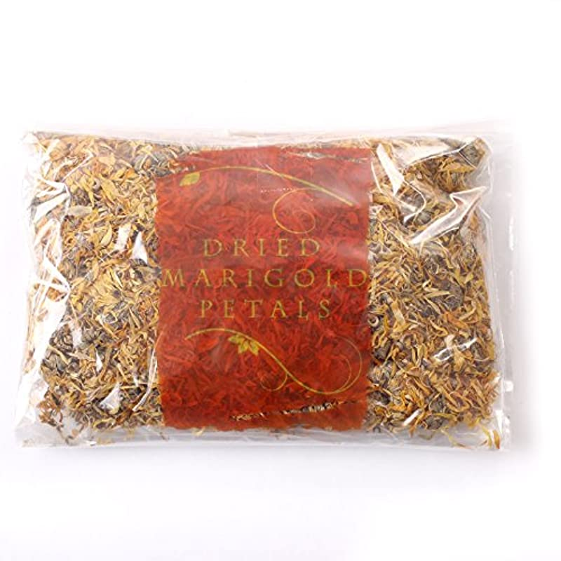 すき意識的元に戻すDried Marigold Petals - 500g