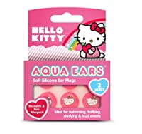 Hello Kitty Aqua Ears Swimming Earplugs - Pair of 3 by HELLO KITTY