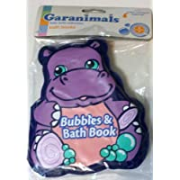 Garanimals Baby Bath Collection Bubbles & Bath Book Purple Hippo by Garanimals [並行輸入品]