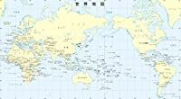 絵画風 壁紙ポスター (はがせるシール式) 世界地図 メルカトル図法 キャラクロ WMP-010S1 (1043mm×576mm) 建築用壁紙+耐候性塗料