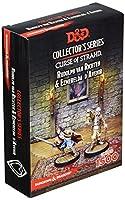 D&D 71051BFM Curse of Strahd Rudolph Van Richten & Esmeralda D'Avenir, 2 Unpainted and Unassembled Resin Figures by Battlefront Miniature