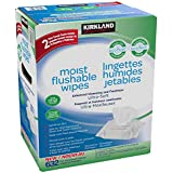 Kirkland Signature Kirkland signature moist flushable wipes 632 wipes, 632 count