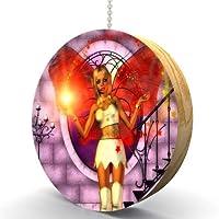 Magical Star Fairy Hardwoodオークファン/ライトPull