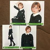 欅坂46 志田愛佳 ガラスを割れ! 初回限定 特典 CD 封入 生写真 4枚 4種 コンプ 即決