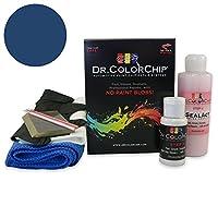 Dr。ColorChipジャガーすべてのモデル自動車ペイント Squirt-n-Squeegee Kit ブルー DRCC-537-5185-0001-SNS