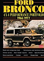 Ford Bronco 4X4 Performance Portfolio 1966-1977 by R.M. Clarke(1998-12-25)