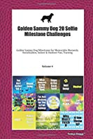 Golden Sammy Dog 20 Selfie Milestone Challenges: Golden Sammy Dog Milestones for Memorable Moments, Socialization, Indoor & Outdoor Fun, Training Volume 4