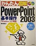 かんたん図解 Power Point 2003 基本操作