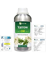 Yarrow (Achillea millefolium) 100% Natural Pure Essential Oil 2000ml/67 fl.oz.