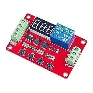 DVB01 電圧計 リレーモジュール 電源モジュール 電圧測定 4線式 デジタルディスプレイ 3種類選べ - 12V