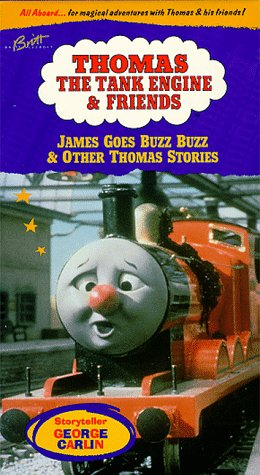 Thomas the Tank Engine & Friends - James Goes Buzz Buzz [VHS] [Import]