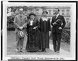 Photo :母ジョーンズ, Theodore Roosevelt Jr , Calvin Coolidge、Grace Goodhue Coolidge、1924
