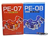 トランスフォーマー PE-07 & PE-08 - Perfect Effect - Sun & Night Set Transformers [並行輸入品]
