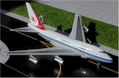 1: 400 ジェミニジェット Korean Air ボーイング 747SP Old Colors (並行輸入)