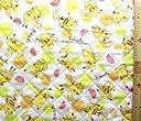 <Qキャラクター キルティング生地>ポケットモンスター(オフ)#99(キルティング キルト キャラクター キルティング生地 布 入園 入学 ピロル)
