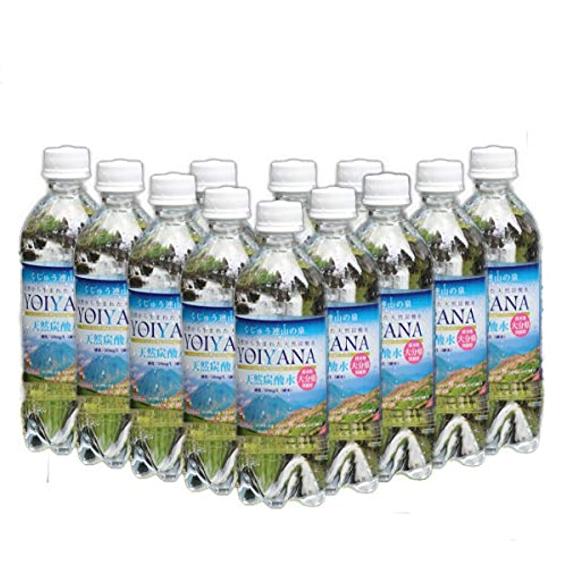 写真撮影岸派手天然炭酸水 YOIYANA (よいやな) 500ml12本お試しセット