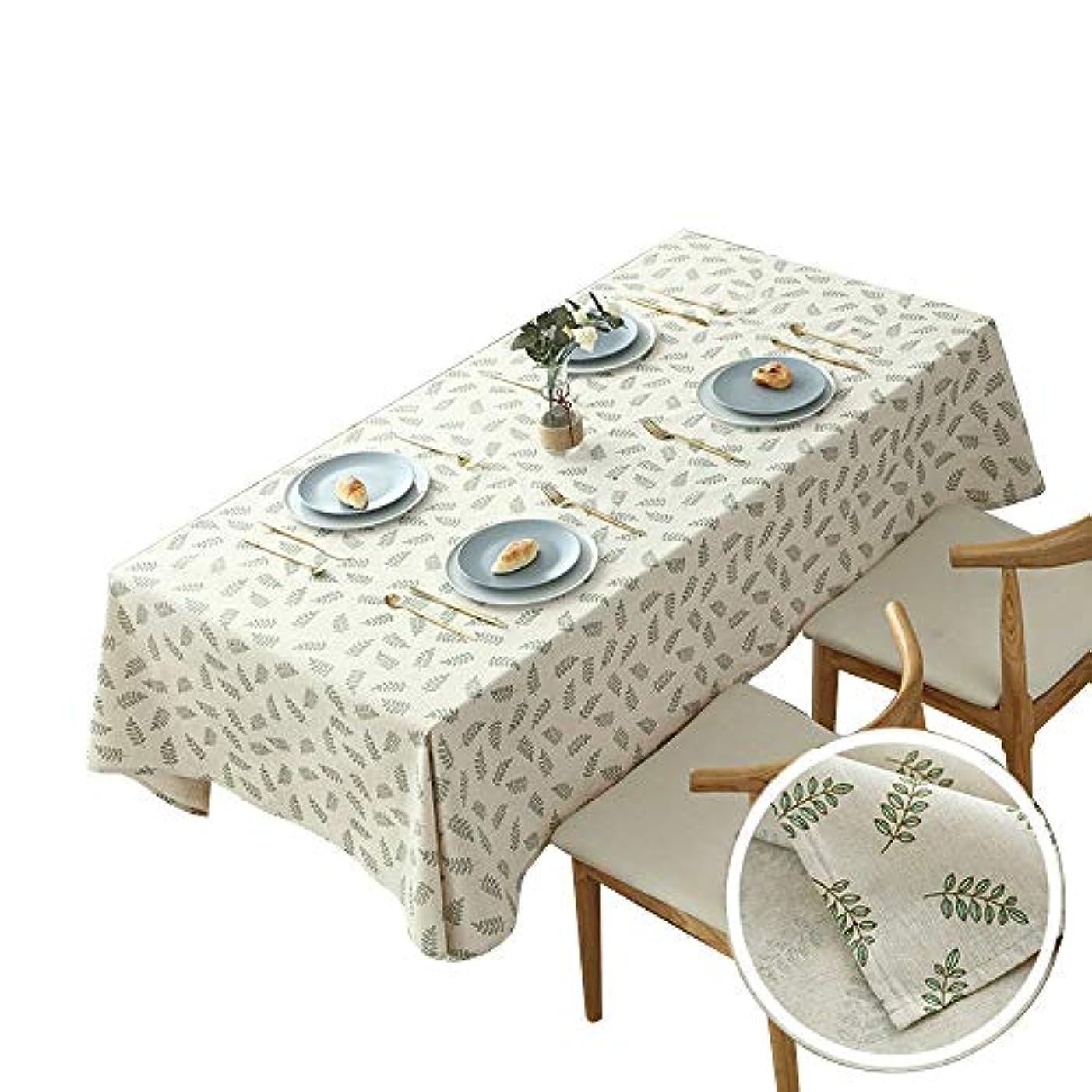 受け取る報いる品揃えHANSHAN テーブルクロス テーブルクロス、防塵テーブルカバー長方形テーブルクロスコットンとリネン装飾ファブリックテーブルカバー57×118インチ (Color : B, Size : 31 × 47inch)