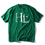 LOCAL MOTION(ローカルモーション)プリント半袖Tシャツ(HI) smt4205 [並行輸入品]【304.グリーン-XXL】