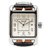 エルメス 財布 新作 [エルメス] 腕時計 HERMES CD1 890 670 MNO ブラック ホワイト [並行輸入品]