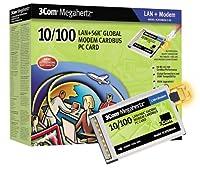 3CXFEM656C カードバス 10/100 LAN+56 MODEM 英語版