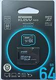 エッセンコア クレブ microSDXC メモリカード 64GB Class10 UHS-I SD 変換アダプタ 付属 永久保証 U064GUC1U18-DK