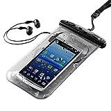 サンワダイレクト 防水ケース イヤホン付き iPhone6s iPhone6 スマートフォン 対応 200-PDA044
