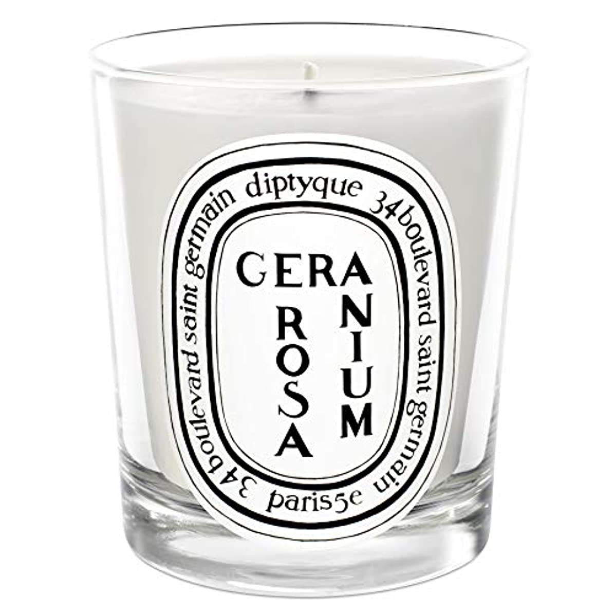 格納忘れる積極的に[Diptyque] Diptyqueゼラニウムローザ香りのキャンドル190グラム - Diptyque Geranium Rosa Scented Candle 190g [並行輸入品]