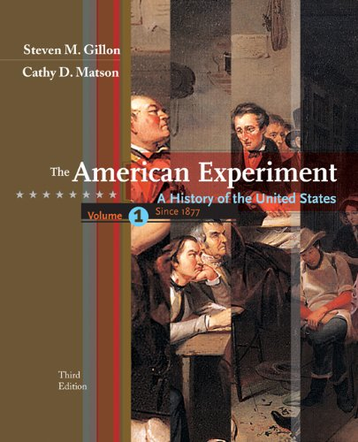Download The American Experiment: A History of the United States: To 1877 0547056478