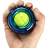 MDBuddy Gyro Ball, Powerball Wrist Strengthening Exercises Wrist Workouts LED Wrist Ball