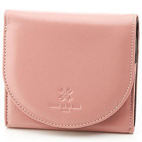 コムサデモード(グッズ)(COMME CA DU MODE) 財布(三つ折り財布)【ピンク/F】