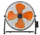 【タイムセール】山善 扇風機 45cm 工業扇 床置き式 ロータリースイッチ 風量3段階調節 オレンジ YKY-458が激安特価!