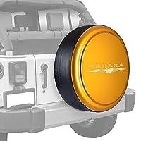 """Boomerang リジッドタイヤカバー 32インチ マッチするカラー プラスチック面&ビニールバンド ジープ用 カスタマイズ可 32"""" (255/75R17), (255/70R18) & (245/75R17) オレンジ RG-SAH32-AMP"""