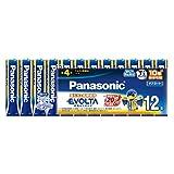 パナソニック エボルタ 単4形アルカリ乾電池 12本パック LR03EJ 12SW