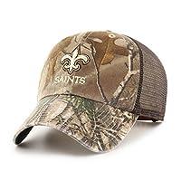 (New Orleans Saints, One Size, Realtree) - OTS NFL Adult Men's Challenger Adjustable Hat