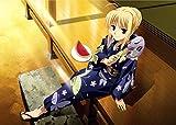 1000ピースジグソーパズル Fate/stay night キャラクターグッズ セイバー 裏側アルファベット表記 初心者でも簡単(50cmx75cm)