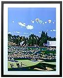 アートショップ フォームス ヒロ・ヤマガタ「ライダーカップ」アートポスター展示用フック付き