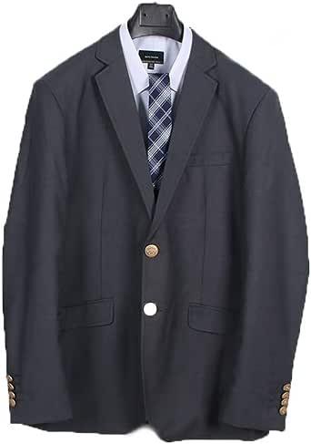 制服スクール ブレザー 男子用ジャケット 学生服 通学 中学生 高校生 入学 卒業 紺色 ブラック