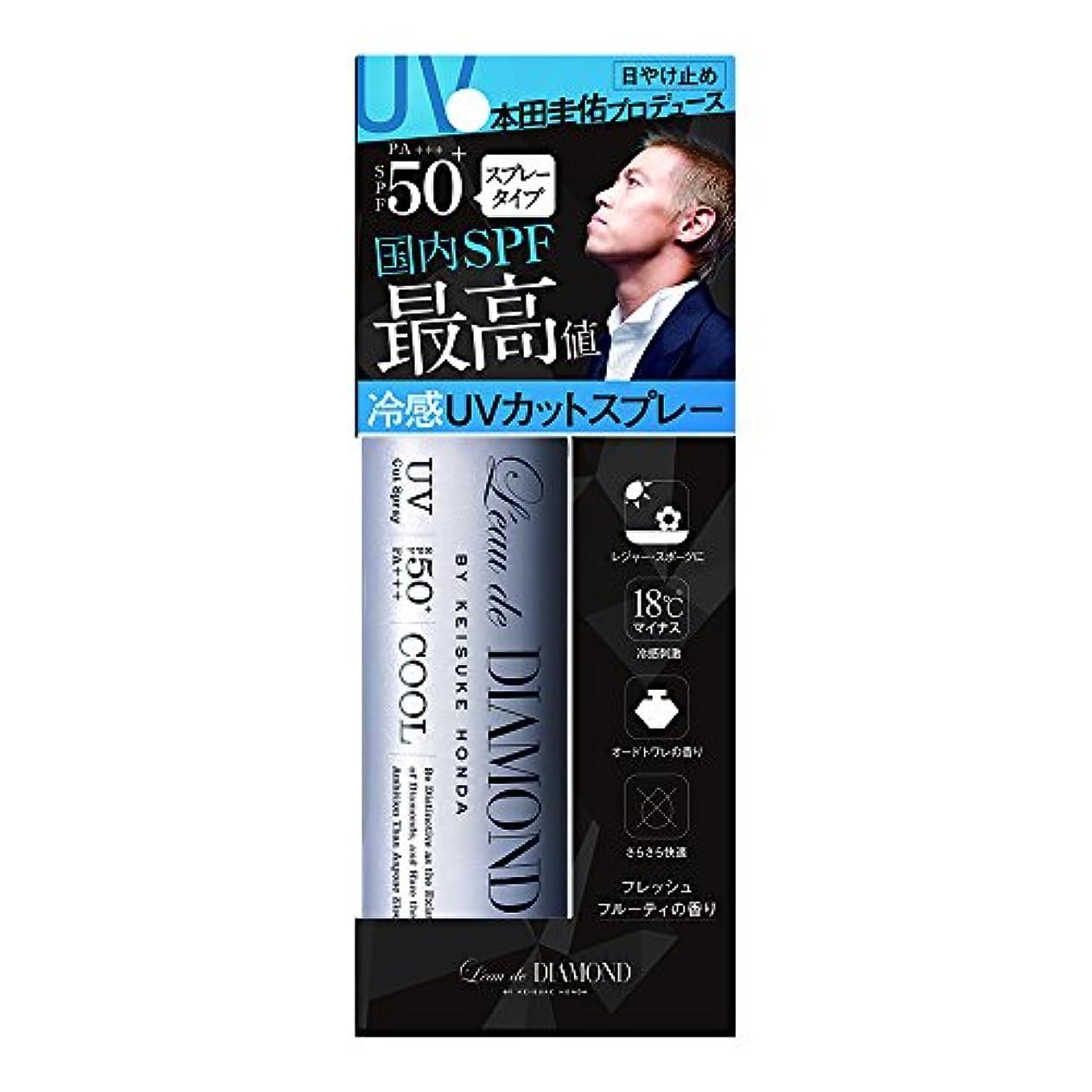 覚醒テレビパネルロードダイアモンド バイ ケイスケホンダフレグランスUVカットスプレー(To be Fresh)  60g