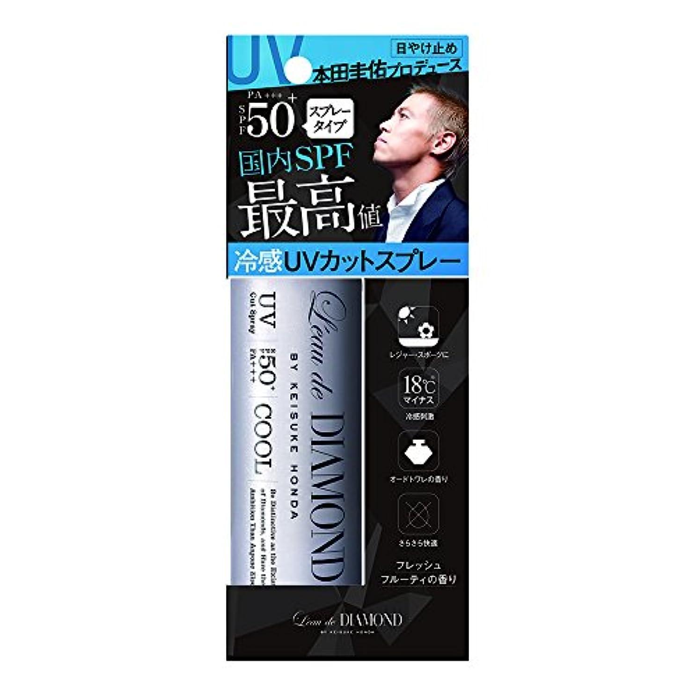 ロードダイアモンド バイ ケイスケホンダフレグランスUVカットスプレー(To be Fresh)  60g