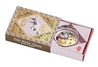 アデリア ガラス 箸置き 最大3.8×高1.6cm 江戸猫 箸置き 首輪 日本製 R-6752