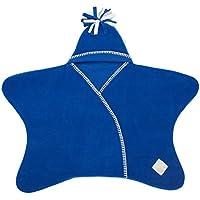 [ タッペンス&クランブル ] Tuppence & Crumble おくるみ スターラップ 0~4ヶ月 星型 ベビー アフガン フリース 足つき BFSTARWb コバルトブルー Star Baby Wrap Cobalt 出産祝い 赤ちゃん プレゼント [並行輸入品]