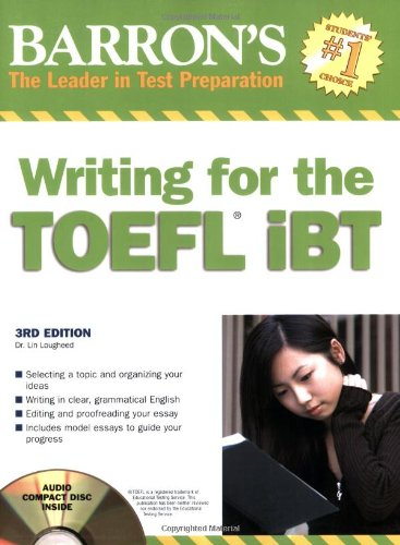 Barron's Writing for the TOEFL iBTの詳細を見る