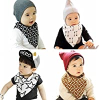 Marca west Unisex Bandana Drool Bibs Scarf Triangle Baby Bibs For Baby Toddler by Marca west